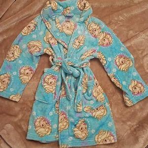 Girls size 8 Frozen Elsa Robe